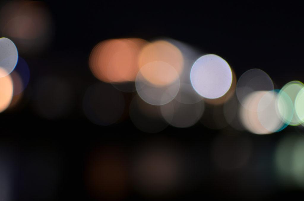 光源をぼかす