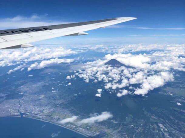 機窓の景色