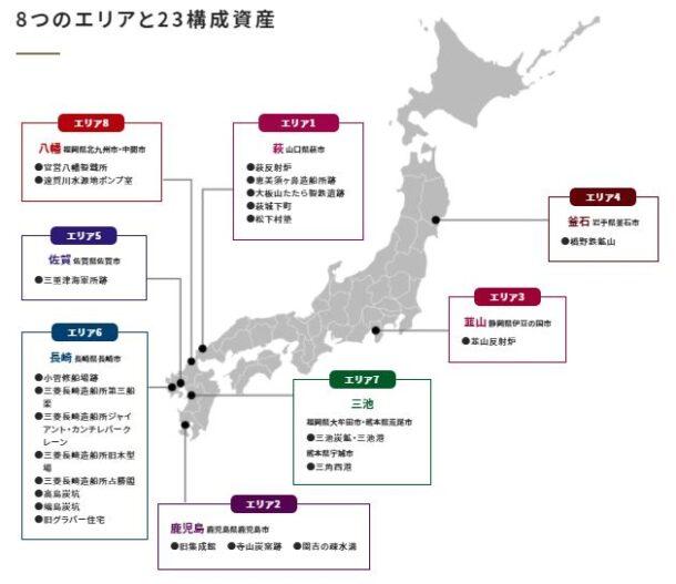 明治日本の産業革命遺産の構成資産