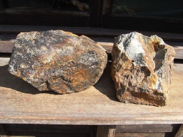 石見銀山鉱石