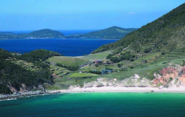 野崎島の集落