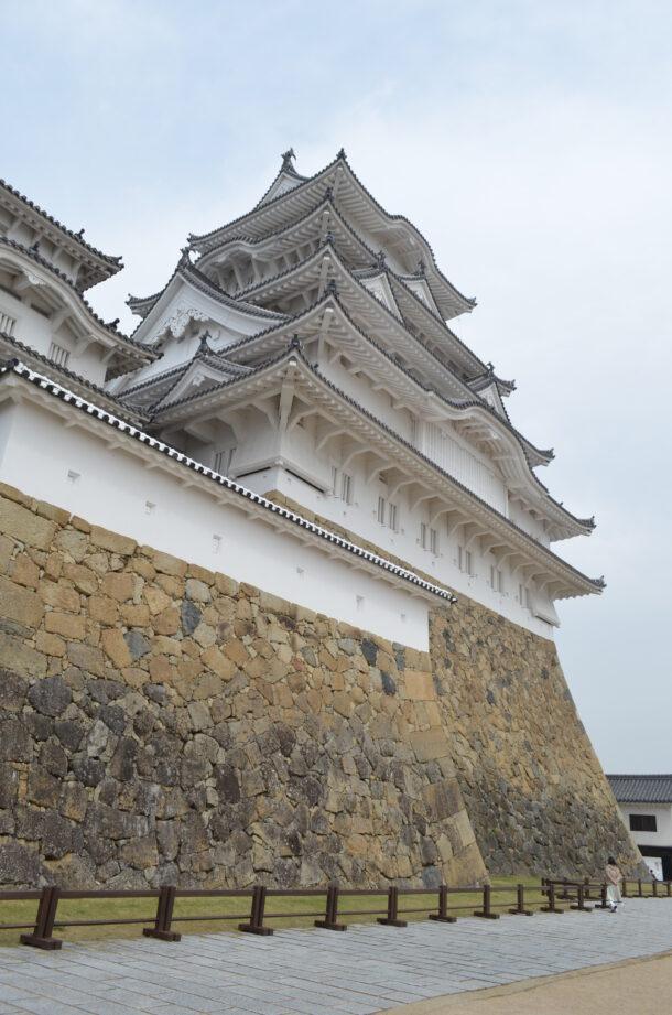 本丸からの姫路城