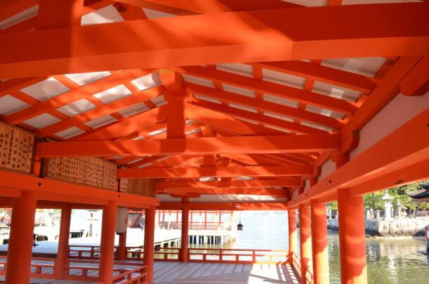 厳島神社東廻廊