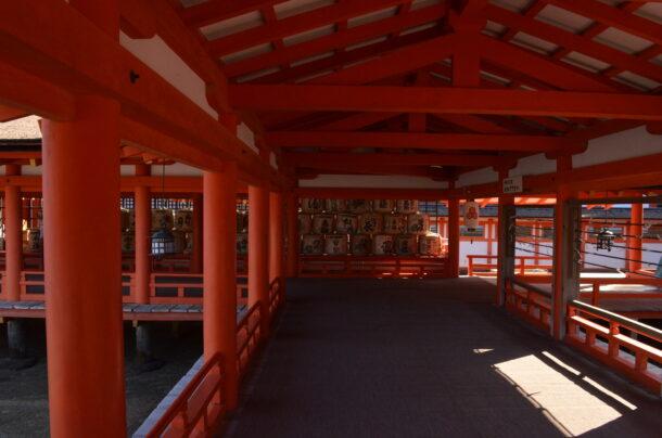 厳島神社西廻廊