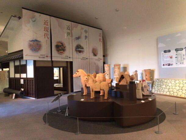 堺市博物館の内観