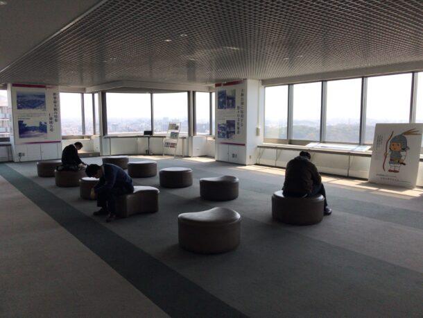 南海堺駅展望ロビー