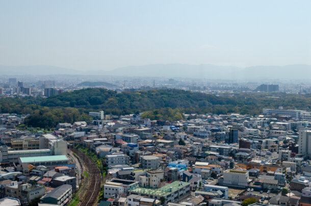 堺市役所からの眺め